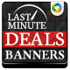 Last Minute Deals! Travel Banners - GraphicRiver Item for Sale
