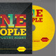 One People Poetry Night CD Artwork Template - GraphicRiver Item for Sale