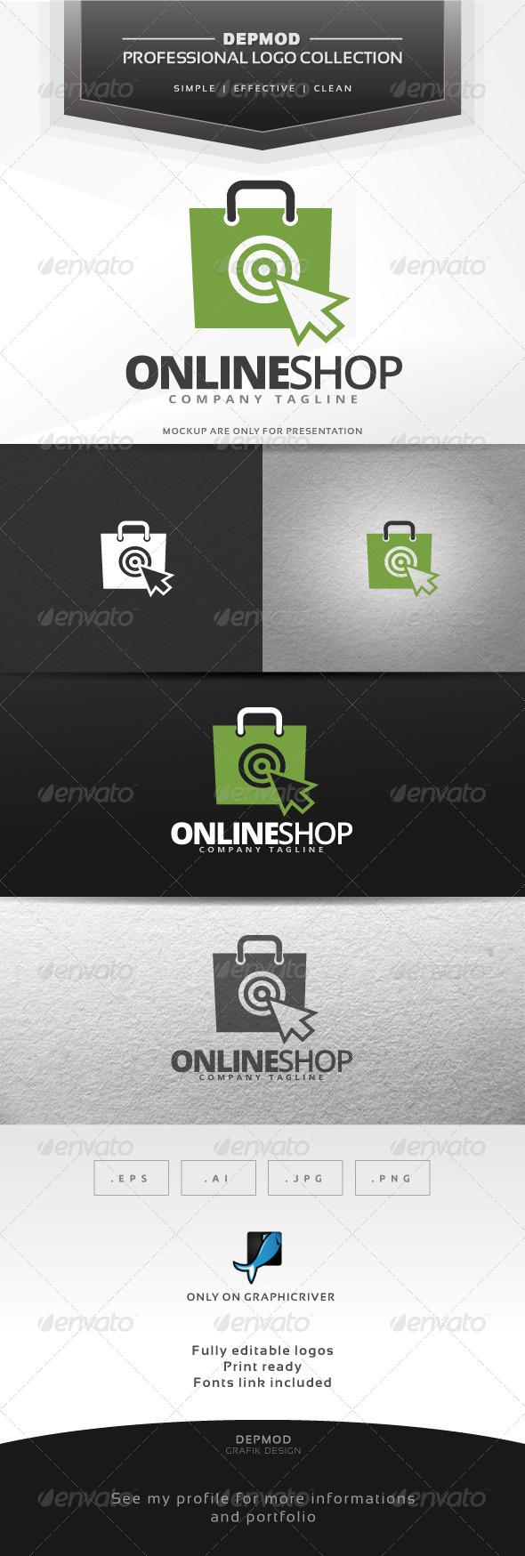 GraphicRiver Online Shop Logo 7219145