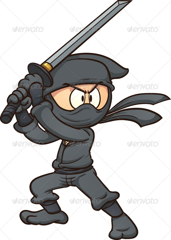 GraphicRiver Cartoon Ninja 7219320