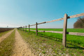 Green Meadow and Scenic Wood Fence - PhotoDune Item for Sale