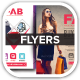 Fab Fashion Retail Sales Flyers - GraphicRiver Item for Sale