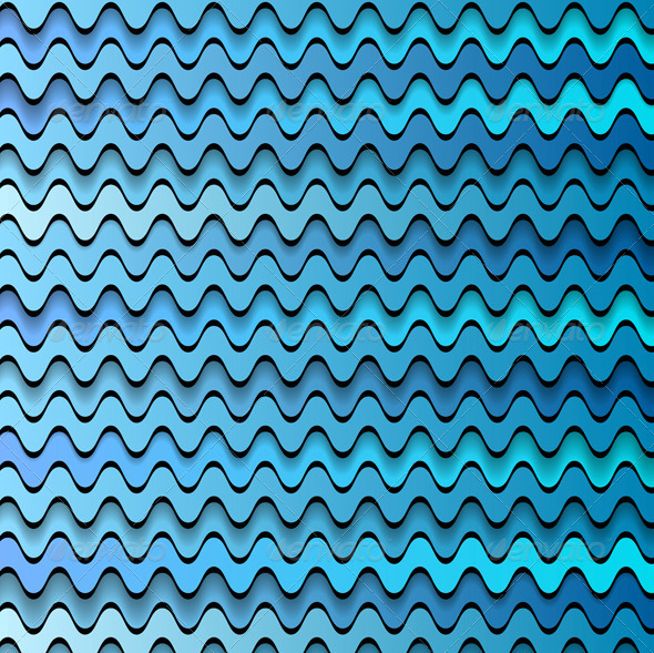 GraphicRiver Vector waves design 7219781