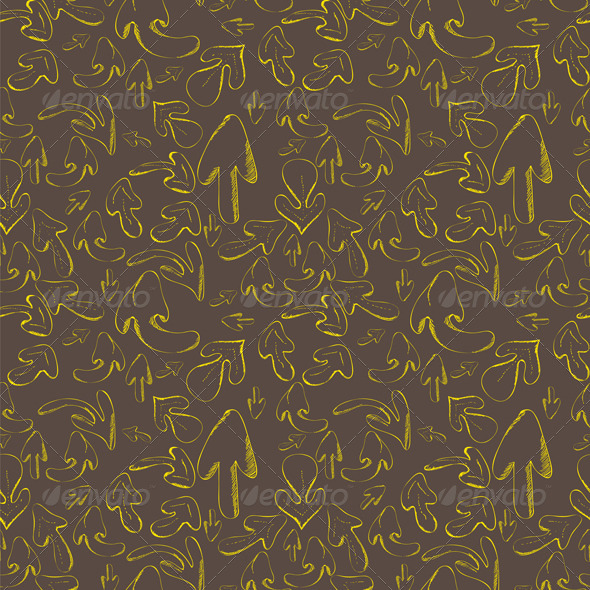 GraphicRiver Hand drawn arrows Seamless pattern 7220198