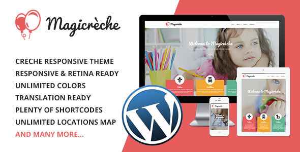 ThemeForest Magicreche Responsive CrЁЁche WordPress Theme 7220285