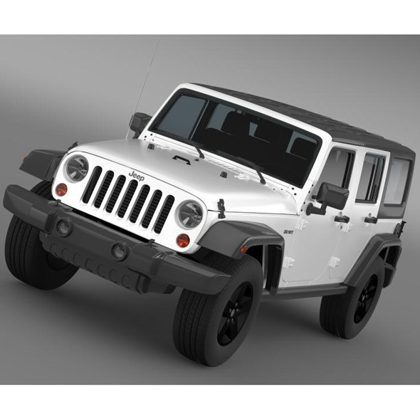 3DOcean Jeep Wrangler Call of Duty Black Ops 7220353