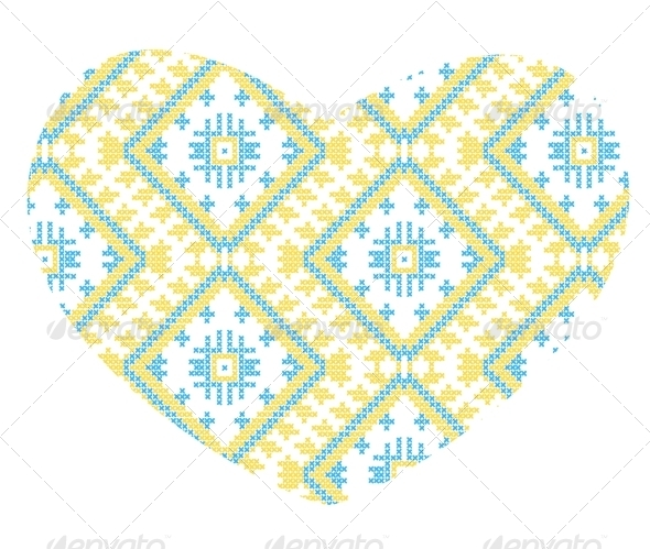 GraphicRiver Ukrainian National Ornaments 7220386