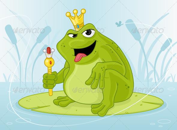 GraphicRiver Frog Prince 7220793