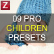 9 Pro Children Presets - GraphicRiver Item for Sale