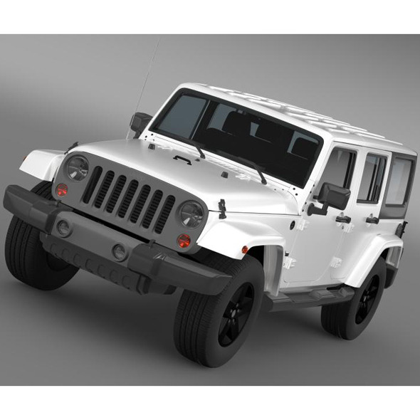3DOcean Jeep Wrangler Freedom Edition 7222210