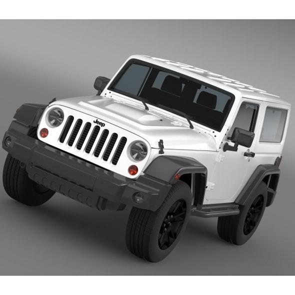 3DOcean Jeep Wrangler Moab 2012 7222285