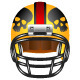 Football Helmet with Skull - GraphicRiver Item for Sale