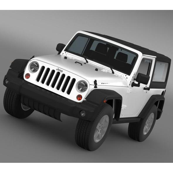 3DOcean Jeep Wrangler Rubicon 2012 7222759