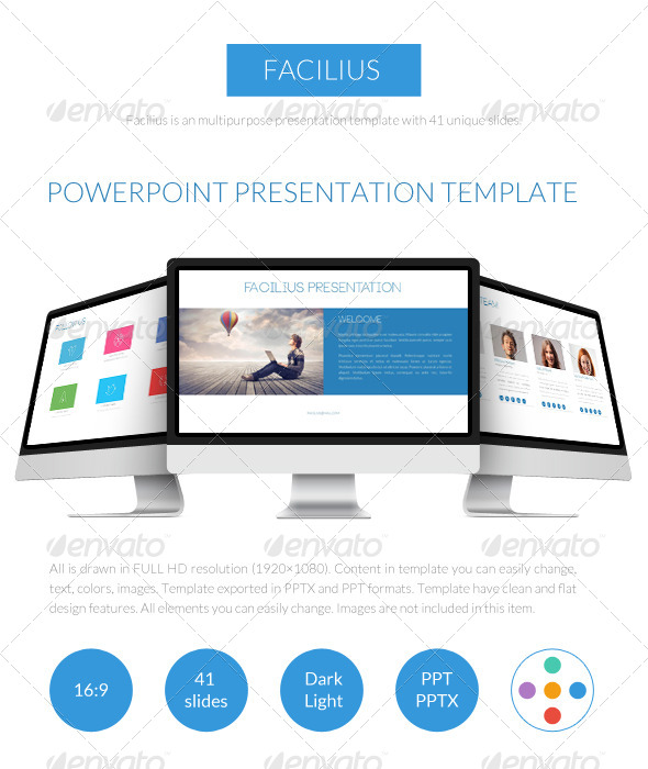 GraphicRiver Facilius Presentation Template 7222852
