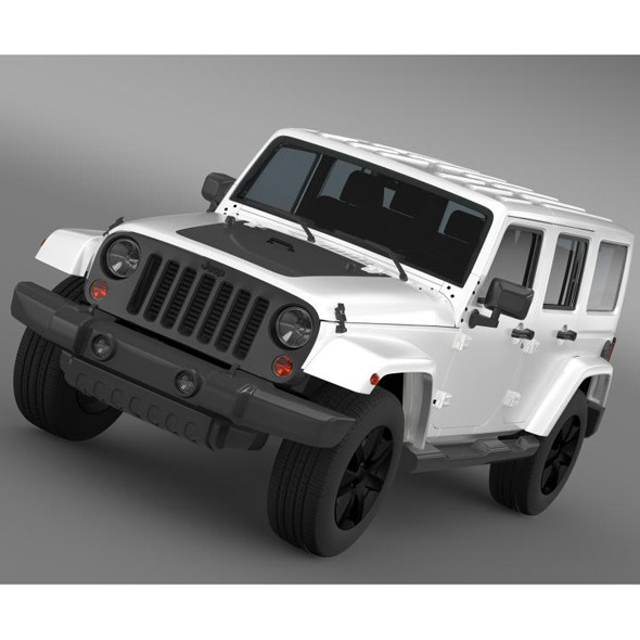 3DOcean Jeep Wrangler Unlimited Altitude 2014 7222897