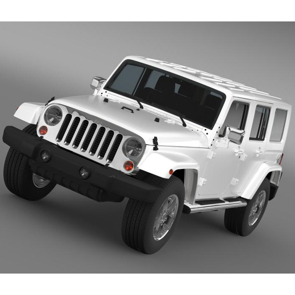 3DOcean Jeep Wrangler Unlimited ENVI 7222913
