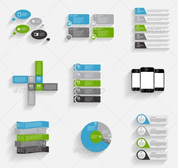 GraphicRiver Collection of Infographic Templates for Business 7222915