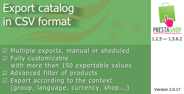 CodeCanyon Export catalog in CSV format 7222934