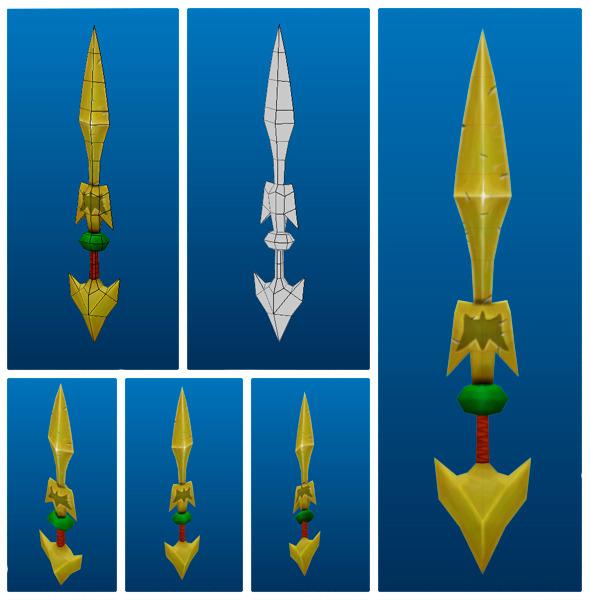 3DOcean Stylish Sword 05 7223052