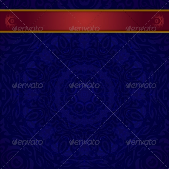 GraphicRiver Dark Blue Background for Invitation 7223078