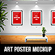 Art Gallery A3 Poster Mockup - GraphicRiver Item for Sale