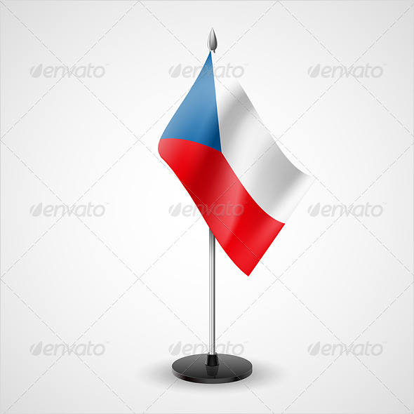GraphicRiver Table Flag of Czech Republic 7224083