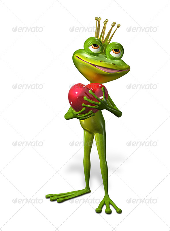 GraphicRiver Princess Frog 7224112