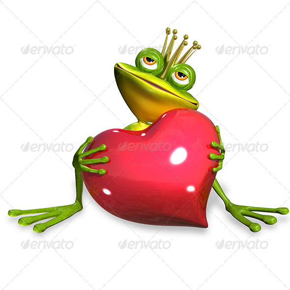 GraphicRiver Princess Frog 7224204