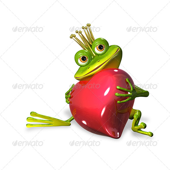 GraphicRiver Princess Frog 7224231