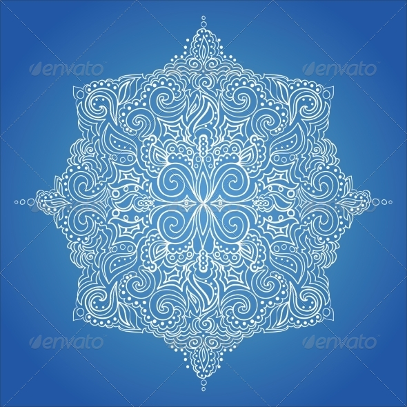 GraphicRiver Lace Pattern 7225133