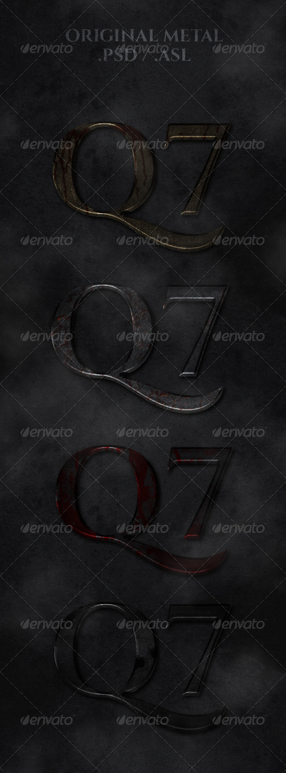 GraphicRiver Original Metal Styles 7225179