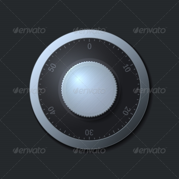 GraphicRiver Combination Lock Wheel 7225247