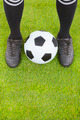 Soccer player's feet  and football  - PhotoDune Item for Sale