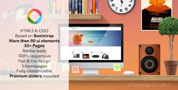 ThemeForest Progressive Multipurpose Responsive Template 7197521