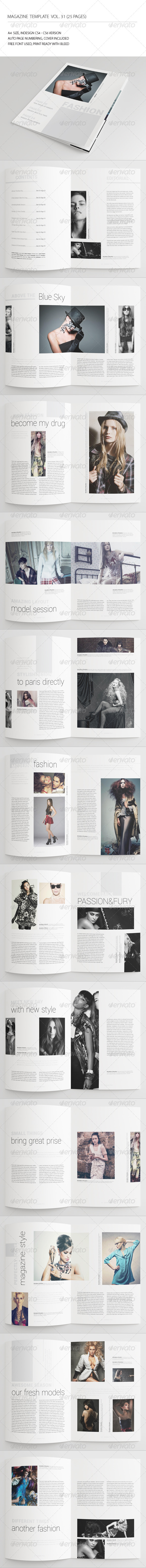 GraphicRiver 25 Pages Fashion Magazine Vol31 7226083