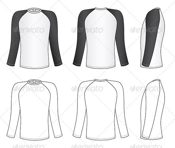 GraphicRiver Raglan Sleeve T-Shirt 7226347