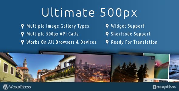 CodeCanyon Ultimate 500px 7204947