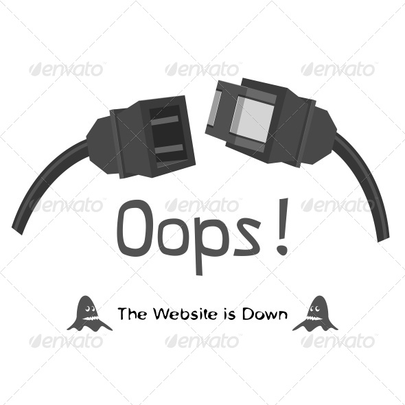 GraphicRiver The Website is Down 7226906