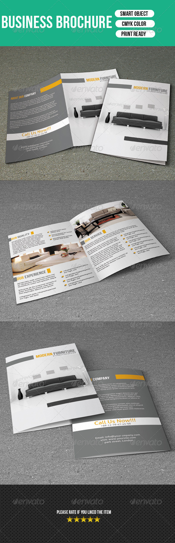 GraphicRiver Interior Brochure 7227197