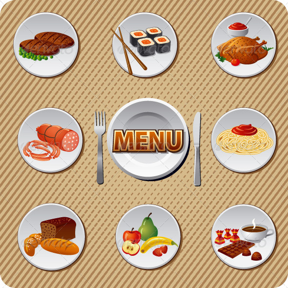GraphicRiver Menu Cover 7227279