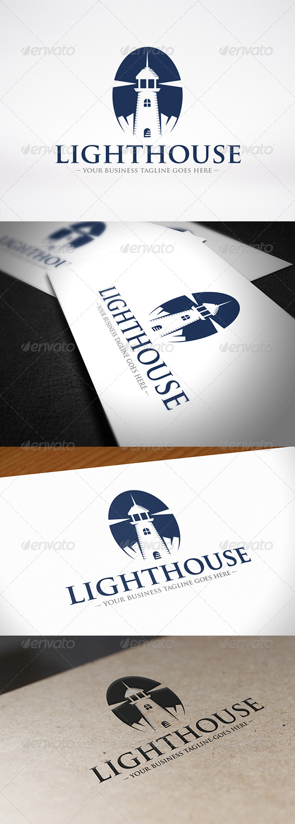 GraphicRiver Lighthouse Logo Design 7227406