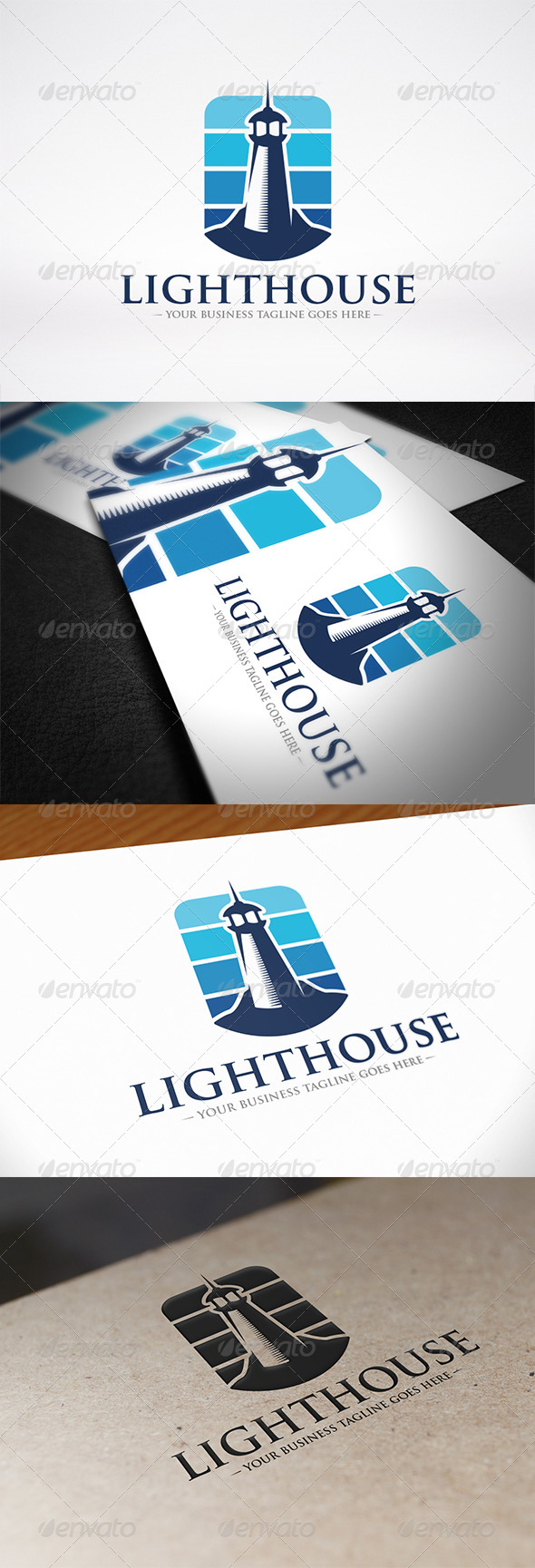 GraphicRiver Lighthouse Logo Identity 7227500