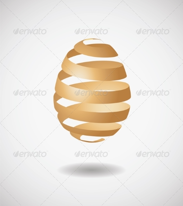 GraphicRiver Easter Egg from Ribbon 7227561