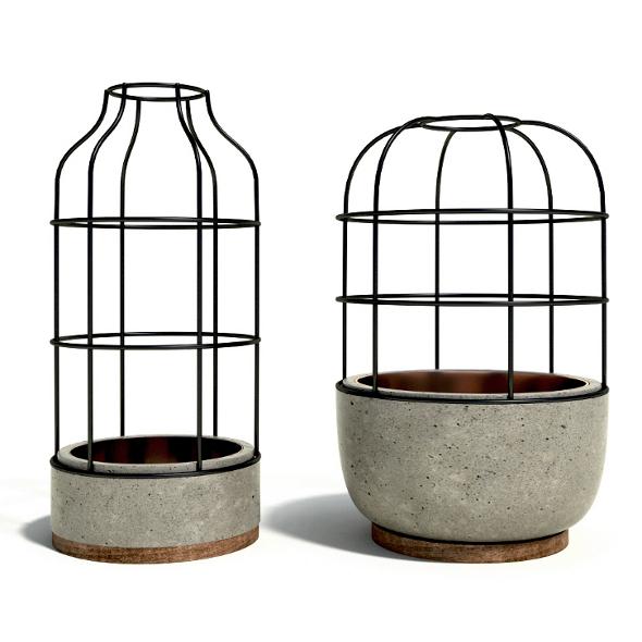 3DOcean V4 Concete Vases 7227601