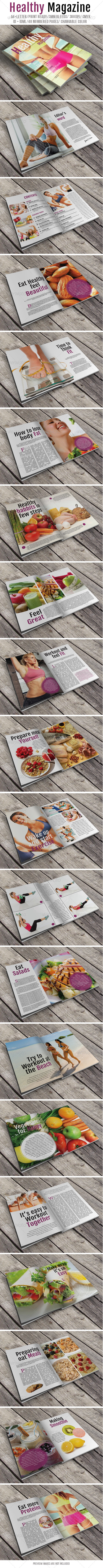 GraphicRiver Healthy Magazine 7227659