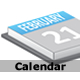 Calendar: shows current date - ActiveDen Item for Sale