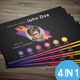 X Power Business Card - GraphicRiver Item for Sale