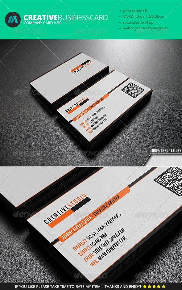 GraphicRiver IntenseArtisan Business Card Vol.50 7227910