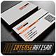 IntenseArtisan Business Card Vol.50 - GraphicRiver Item for Sale