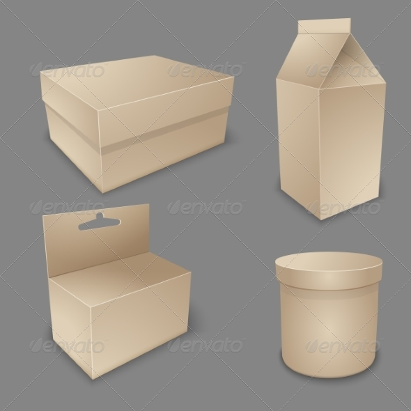 GraphicRiver Blank Packing Collection 7228258